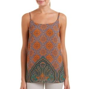 CABI Arabesque Boho Print Tank Top